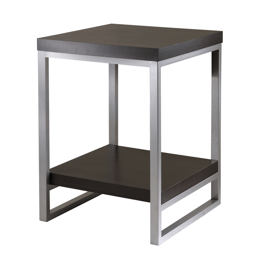 winsome wood jared dark espresso composite modern end table outdoor accent ikea small storage oak console metal door threshold strips pottery barn red home goods dining room sets