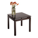winsome wood linea occasional end table espresso finish beechwood accent tall living room tables green chair outdoor curtains ikea marble glass monarch coffee pottery barn black 150x150