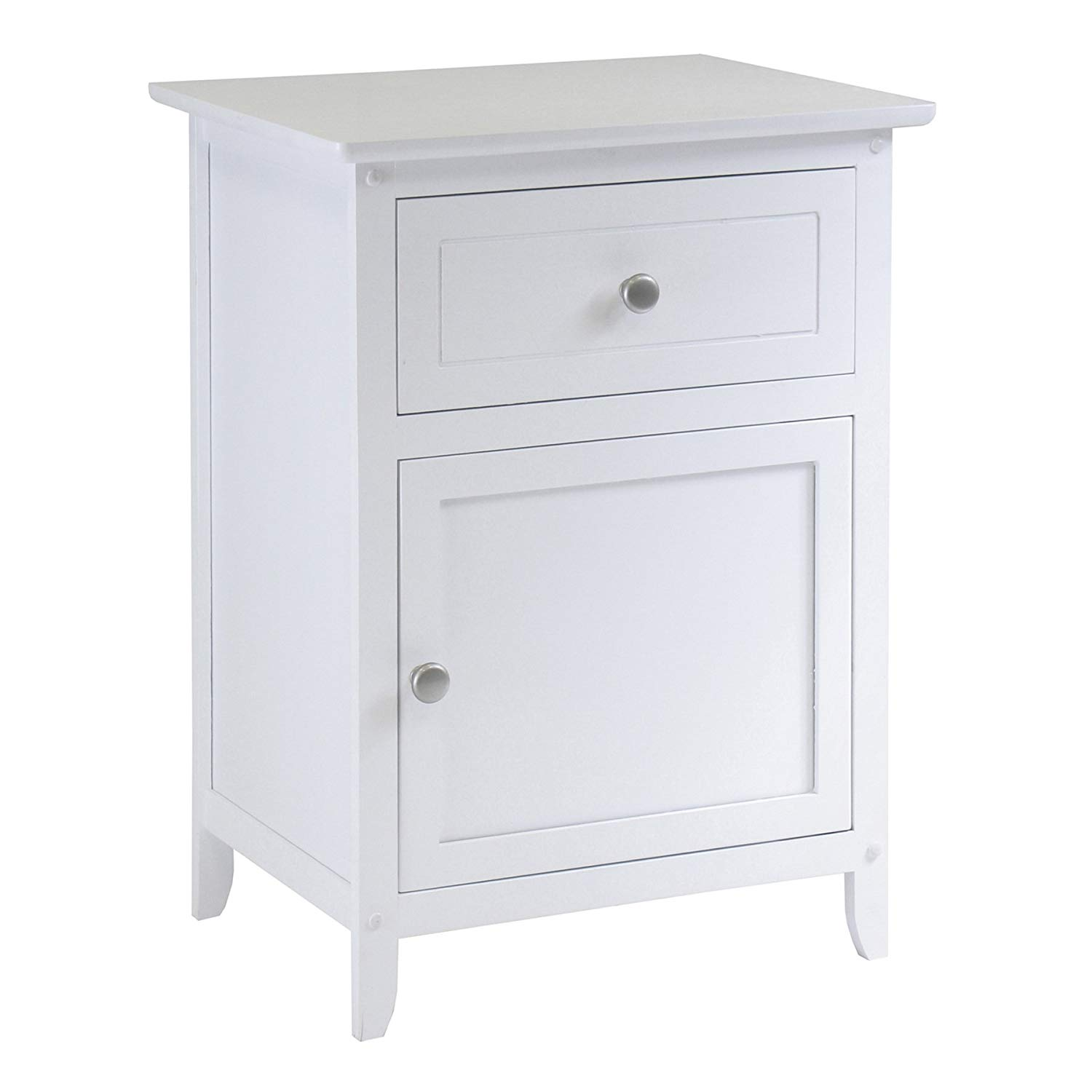 winsome wood night stand accent table drawer cabinet storage white with laminate door threshold cordless lights nesting dining grey round coffee world market side inch trestle