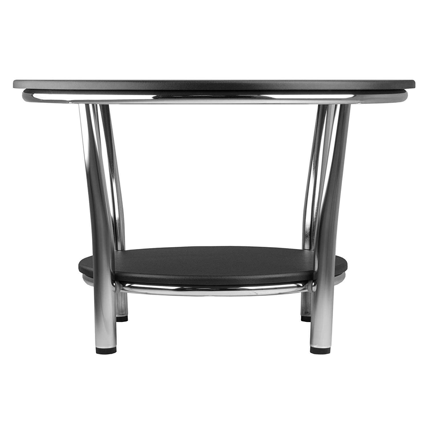 winsome wood occasional table black metal cassie accent with glass top cappuccino finish kitchen dining target vanity dog kennel end teak garden furniture round tables for living