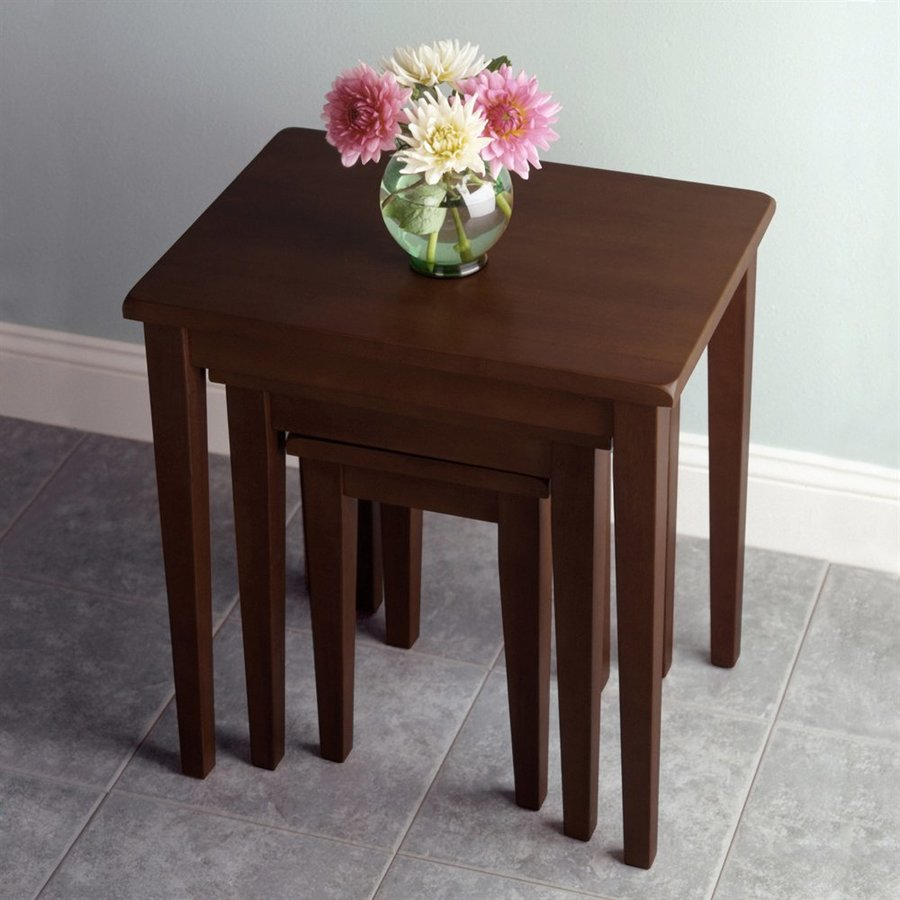 winsome wood regalia piece walnut beechwood accent table set home lamps target patio round concrete ikea unfinished bedside glass small contemporary decor rustic coffee with