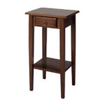 winsome wood regalia plant stand accent table with drawer new telephone view larger style kitchen and chairs long cabinet coffee wicker storage lawn furniture metal dining room 150x150