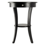 winsome wood sasha accent table black finish multiple colors eugene white dining accents foremost vanity gold geometric end light cherry tables coffee ideas for small spaces 150x150