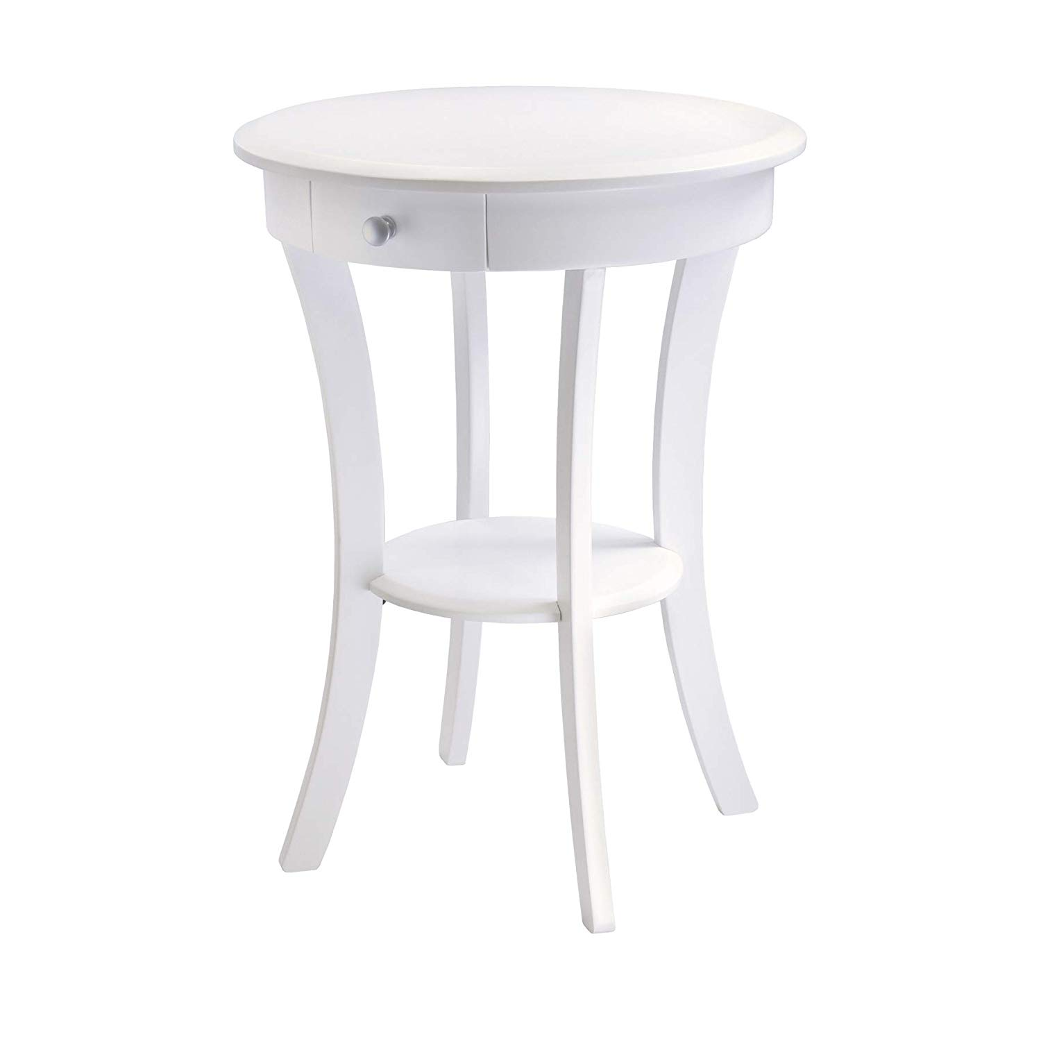 winsome wood sasha accent table white kitchen ugjsbl pottery barn flower dining clip desk lamp mid century furniture unfinished pine counter height extendable baroque cordless