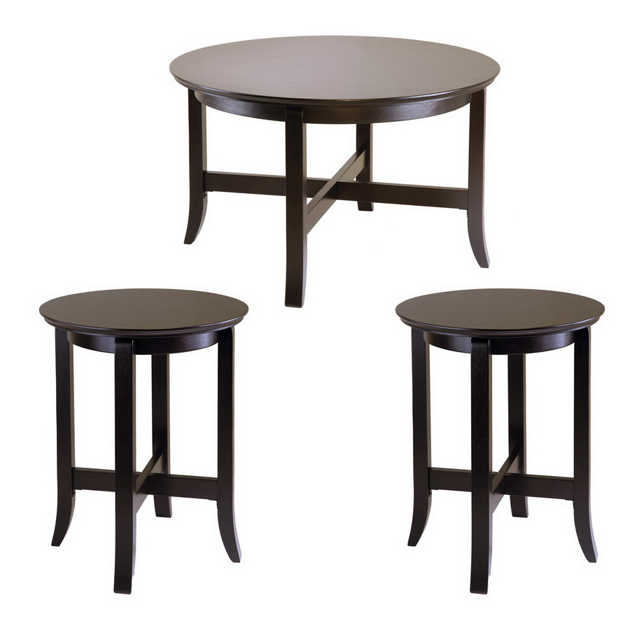 winsome wood toby dark espresso composite accent table set teal bedroom chair white round nesting tables scandinavian side coffee glass wine rack kitchen bedside drawers person