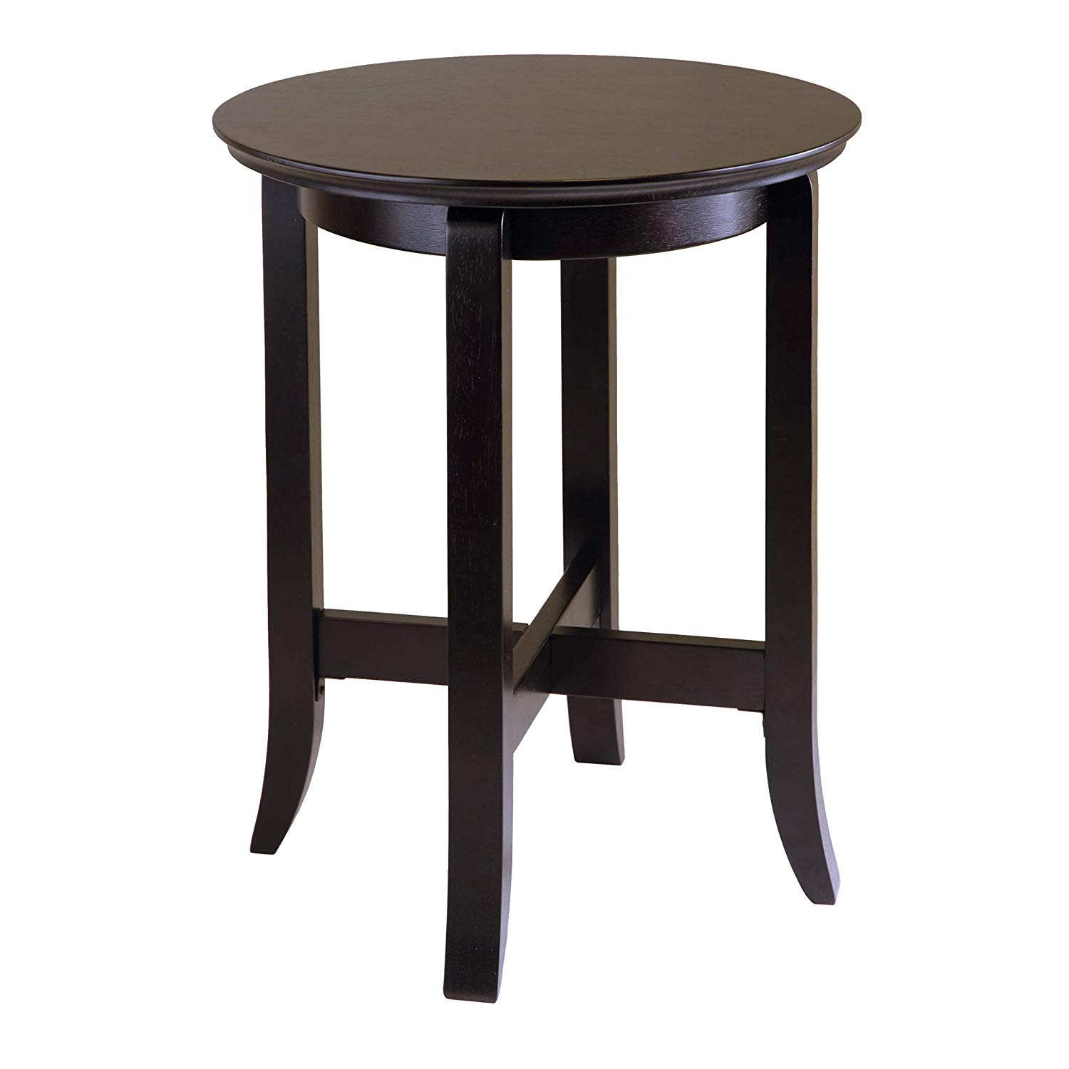 winsome wood toby occasional table espresso cassie accent with glass top cappuccino finish kitchen dining grey cabinet sunshade umbrella narrow small entry centerpiece ideas sasha