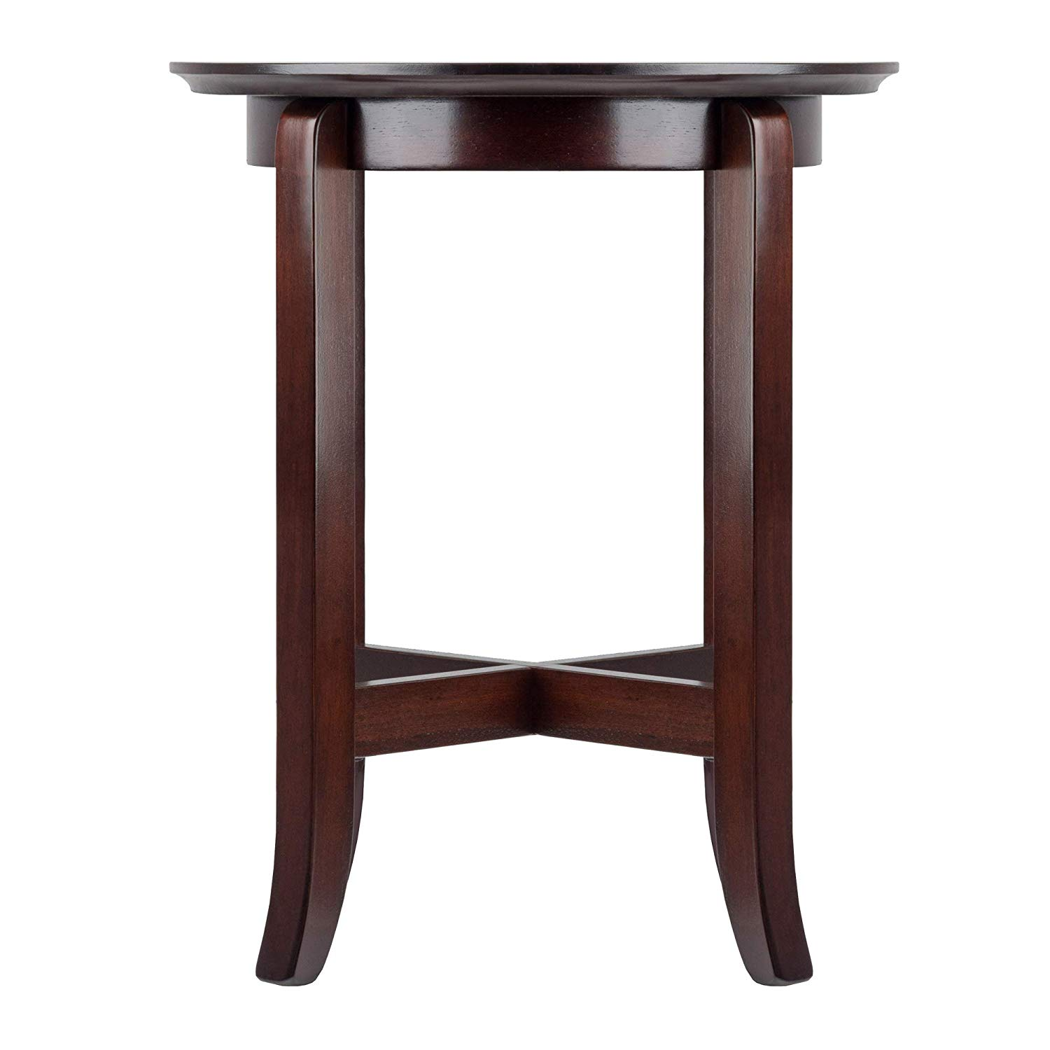 winsome wood toby occasional table espresso walzl cassie accent with glass top cappuccino finish kitchen dining red outdoor oval farmhouse kidney shaped half moon pottery barn