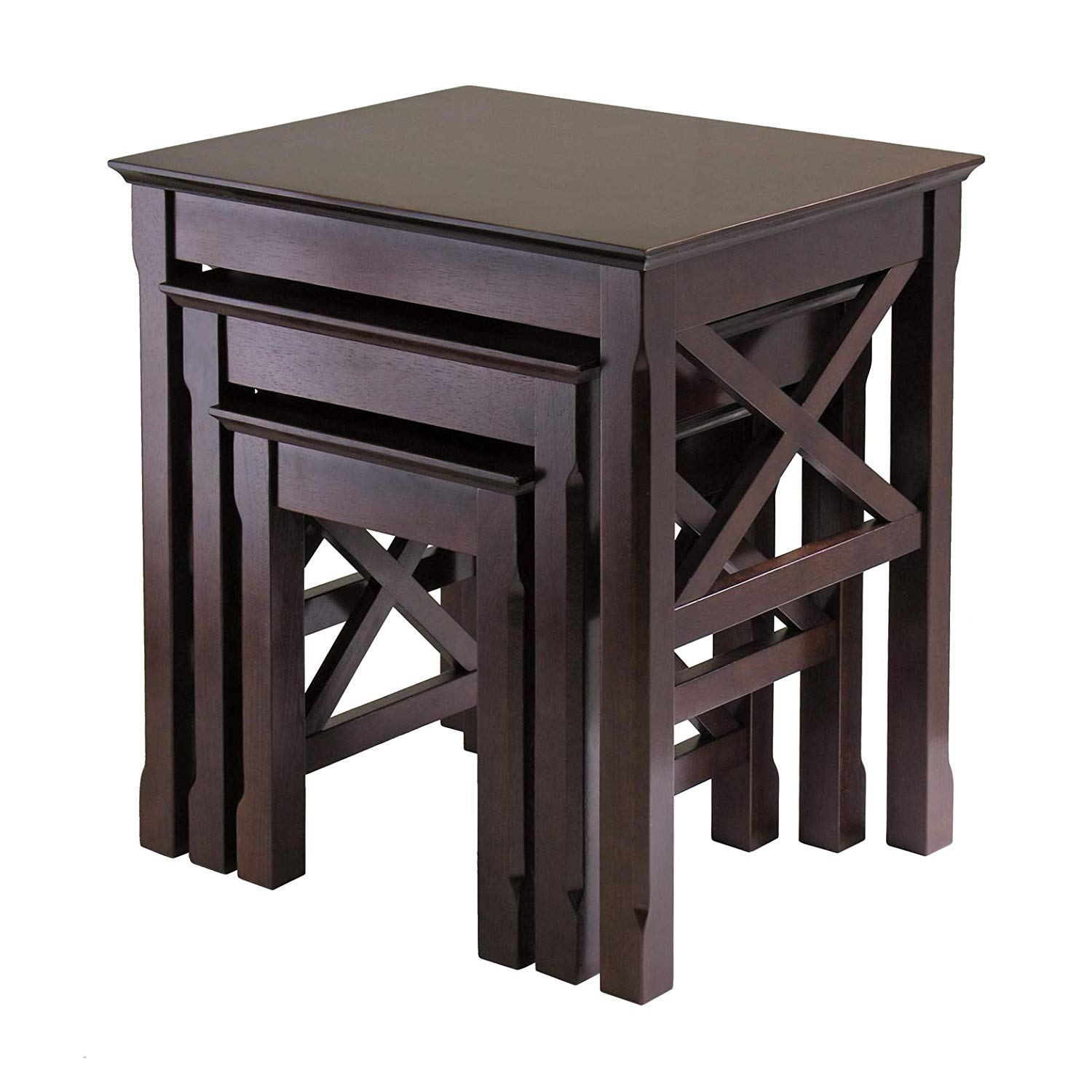 winsome wood xola occasional table cappuccino accent kitchen dining small round antique with drawer outdoor furniture winnipeg mirage mirrored black coffee glass ott college