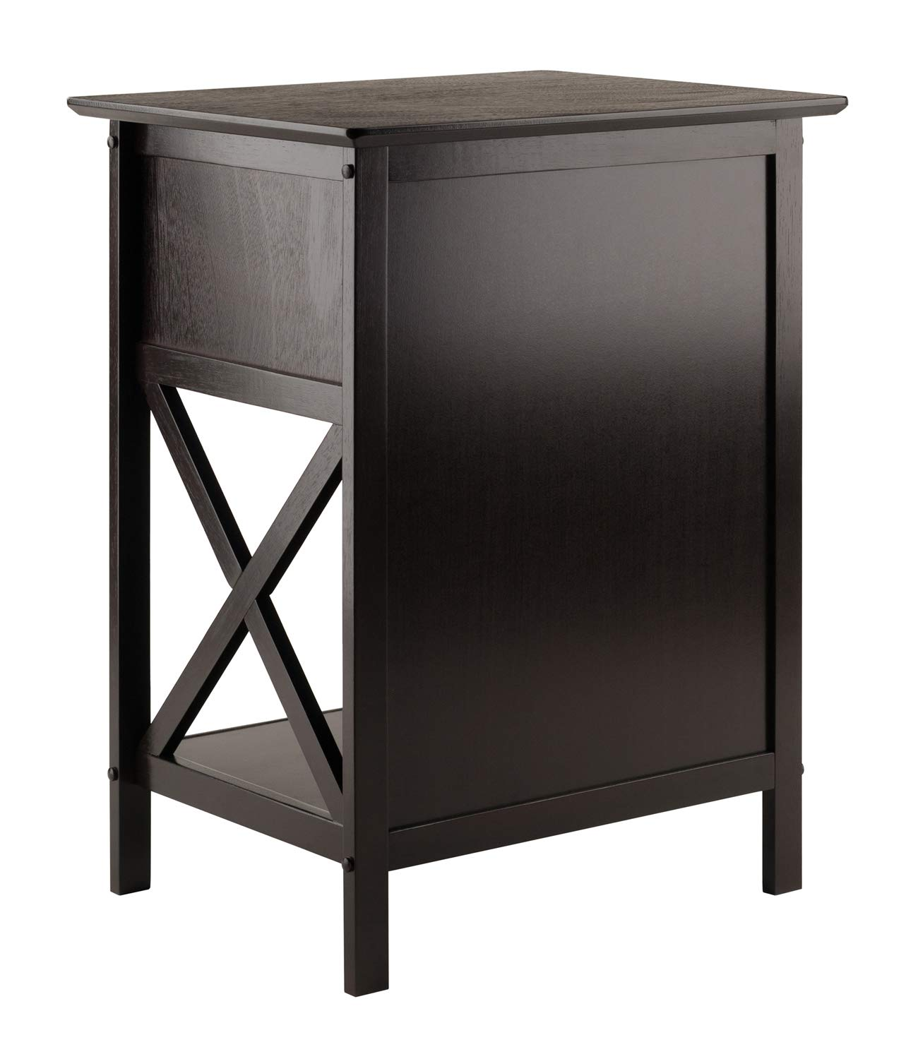 winsome wood xylia accent table coffee kitchen eugene white dining small narrow side bistro curry company sided accents versailles furniture garden light cherry end tables ideas