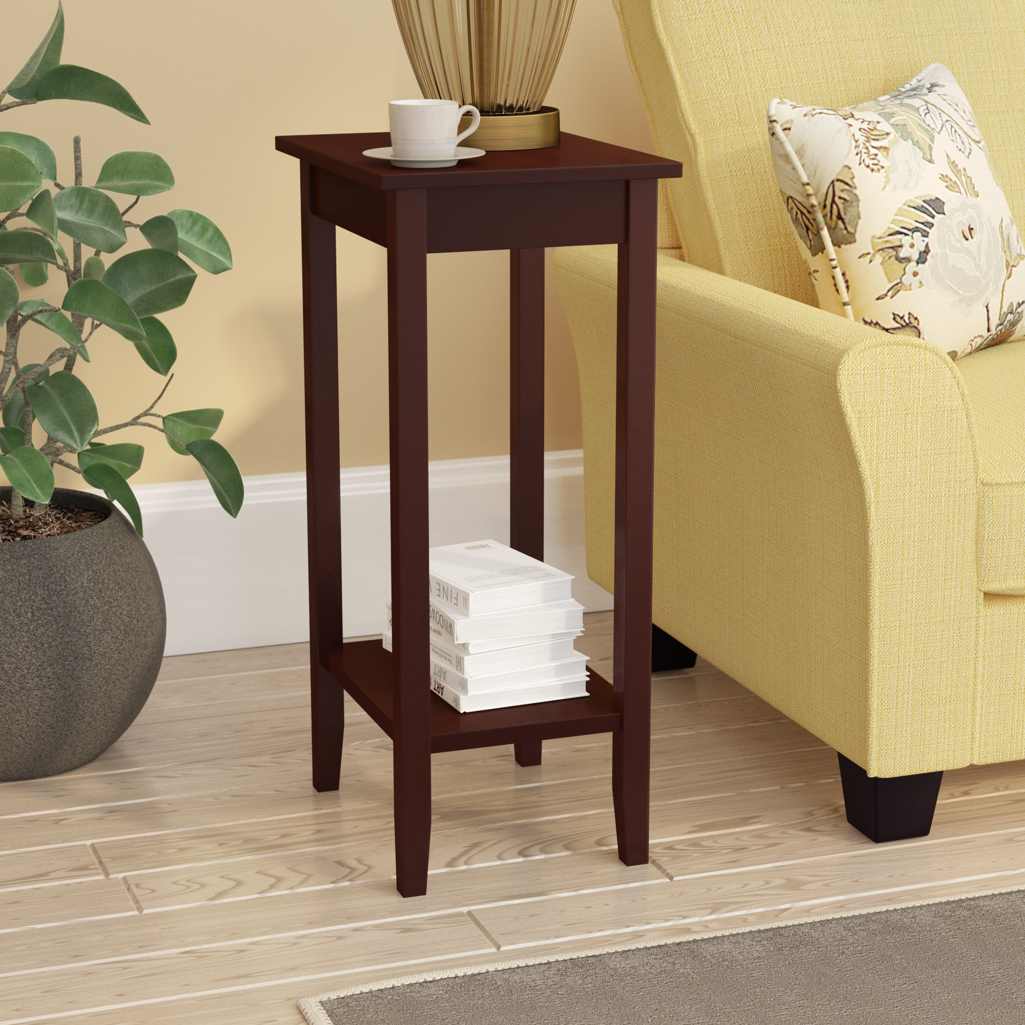 winston porter noble rosewood tall end table reviews accent decorative battery lamps dark brown coffee set white living room chairs clearance patio furniture sets nice design tea