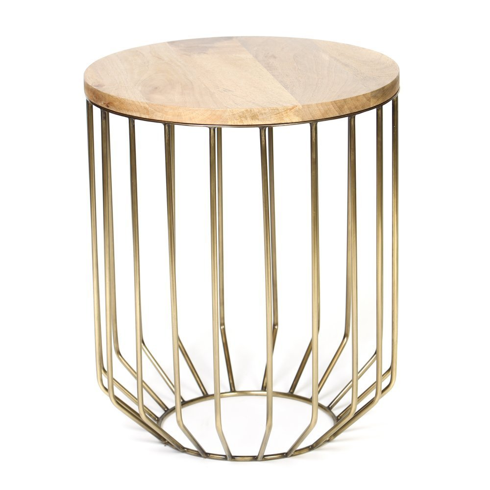 wire end tables center gold frame accent table metal tomato cage domestic imperfection domesticimperfection and bar stools stanley coastal living entertainment ikea floating