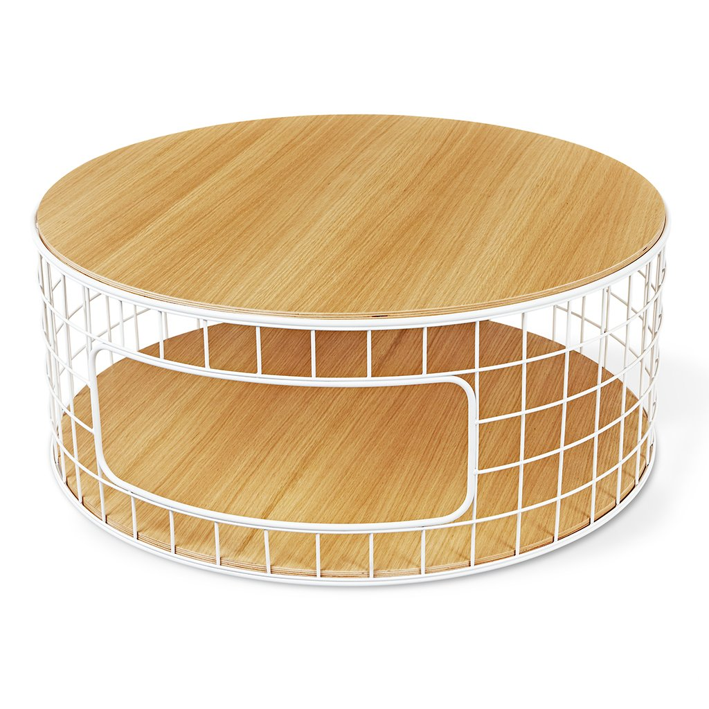 wireframe coffee table accent tables gus modern natural oak white ikea patio dale tiffany wisteria lamp pottery barn round glass dining chrome threshold bars hiend accents piece