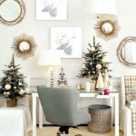 wishing for white christmas with suzanne kasler how decorate ballard designs accent table office parsons and metallic accents from the catalog dale lighting lamps mini tiffany 150x150