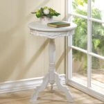 wonderful gallery inspirations white round accent table elegant for small distressed french shabby baroque bedside patio dining set with bench trestle designs wood side gold glass 150x150