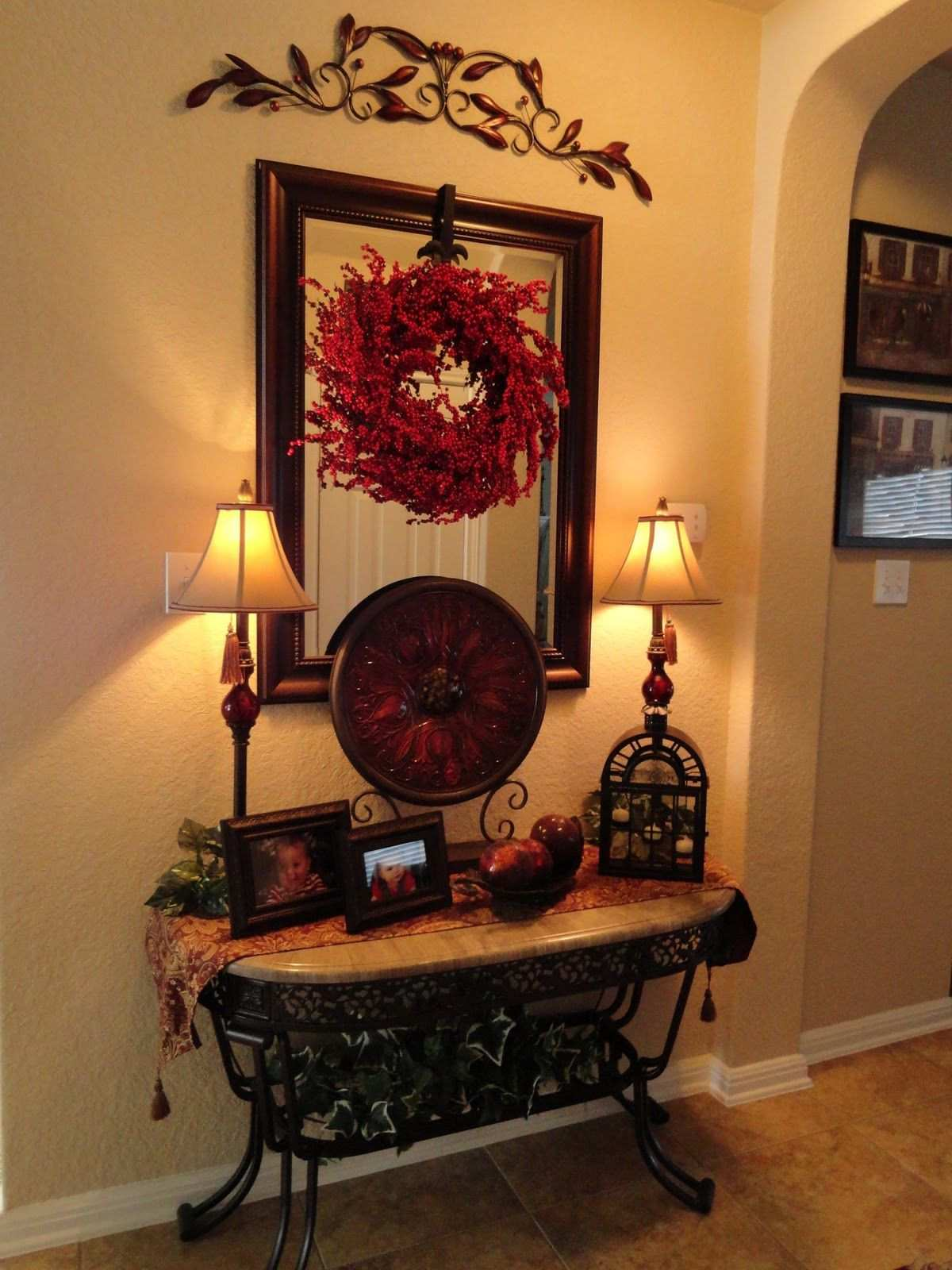 wonderful side table decor ideas for alluring small corner accent awesome love foyer tuscan style the iron accents plain cloths large patio furniture covers metal with shelves