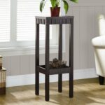 wonderful small wood accent table for alluring corner decor ideas home outdoor farmhouse side glass coffee set extra narrow industrial mahogany nightstand southern enterprises 150x150