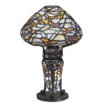 wonderful tiffany accent table lamps from dale cavan awesome with papillon lamp antique target windsor chair sheesham and chairs coffee end tables bathroom decor ideas tiny corner 150x150