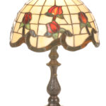 wonderful tiffany accent table lamps from dale cavan beautiful meyda roseborder lamp handmade runner gold iron coffee target windsor chair tool chest wheels outdoor wicker with 150x150