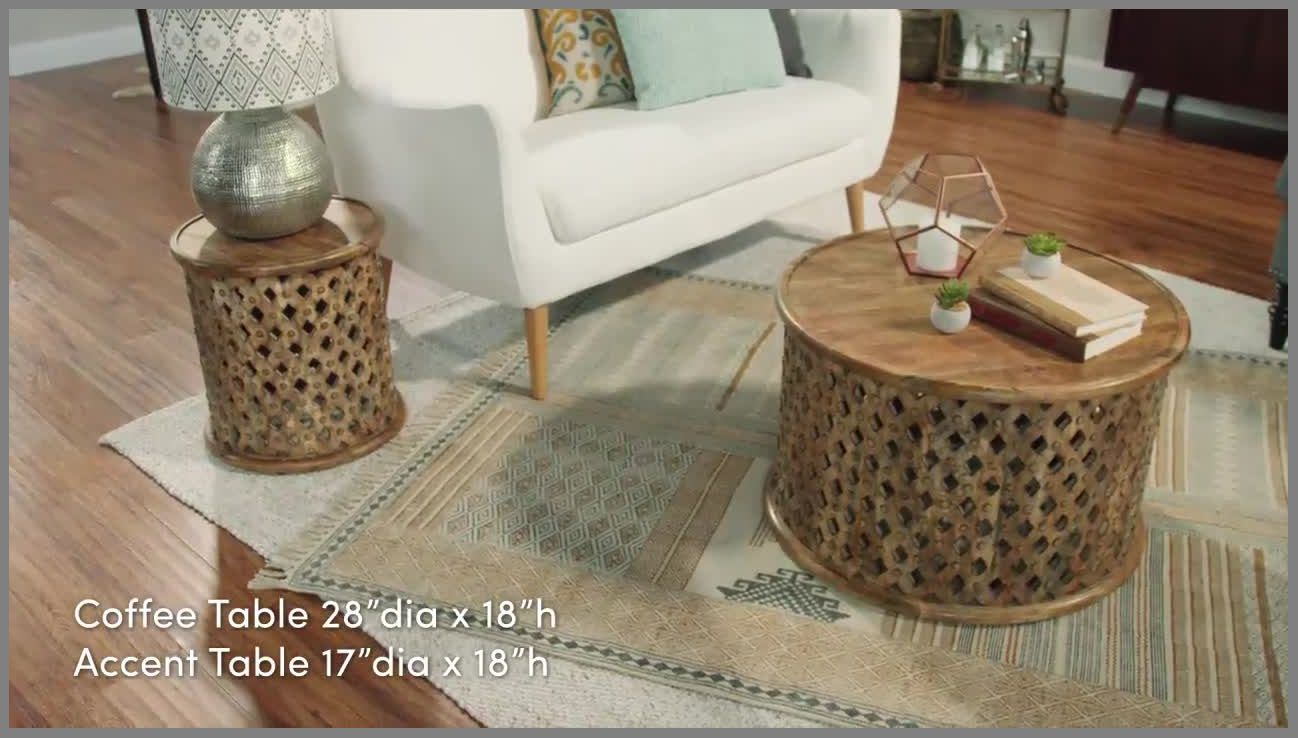 wonderfull tribal carved wood accent table world market gold coffee tables large marble pottery barn art agate mirror company round outdoor sofa wooden plant stands indoor wrought