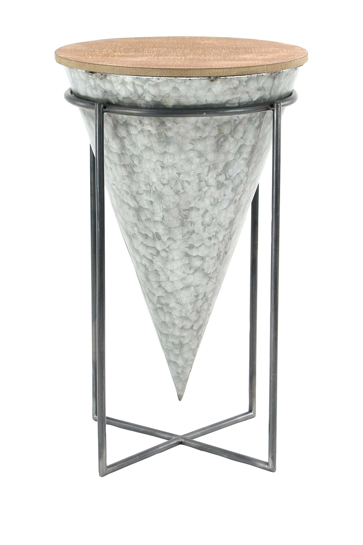wood accent table metal rustic reclaimed large gray brown square target leather recliner chairs full length mirror light side brass floor lamp green coffee mosaic tablecloth