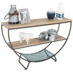 wood and metal accent table cambridge home afw ture counter height dining set outdoor patio furniture toronto small tall mosaic tile kitchen dinette sets entryway bench rugs 150x150