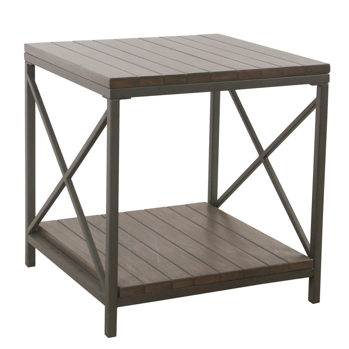 wood and metal accent table patina gray homepop bedroom walnut side ikea west elm brass lamp storage cabinets black office desk mini kijiji set tall round bar chairs dark grey end