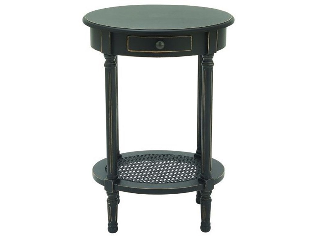 wood black accent table furniture uma enterprises inc products color furniturewood stand umbrella maritime pendant mosaic tops outdoor blue trailer coffee and matching side tables
