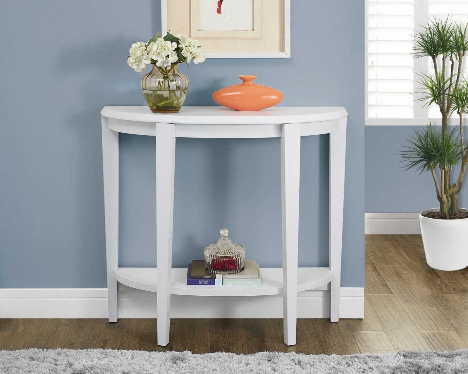 wood console table office desk shelf beside wall furniture end rack white half moon accent computer new hobby lobby tables marble top bedside pier rattan dining room sets ikea pub