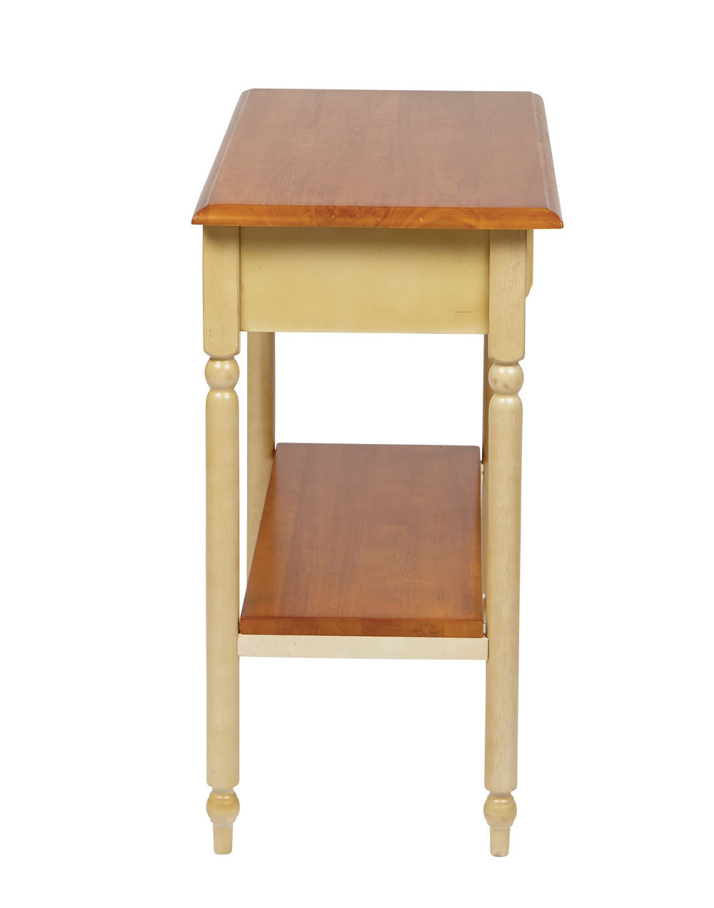 wood country buttermilk cherry finish foyer hall entry square accent corner table tables decorative boxes with lids pottery barn side chairs old style nightstand ideas end drawer