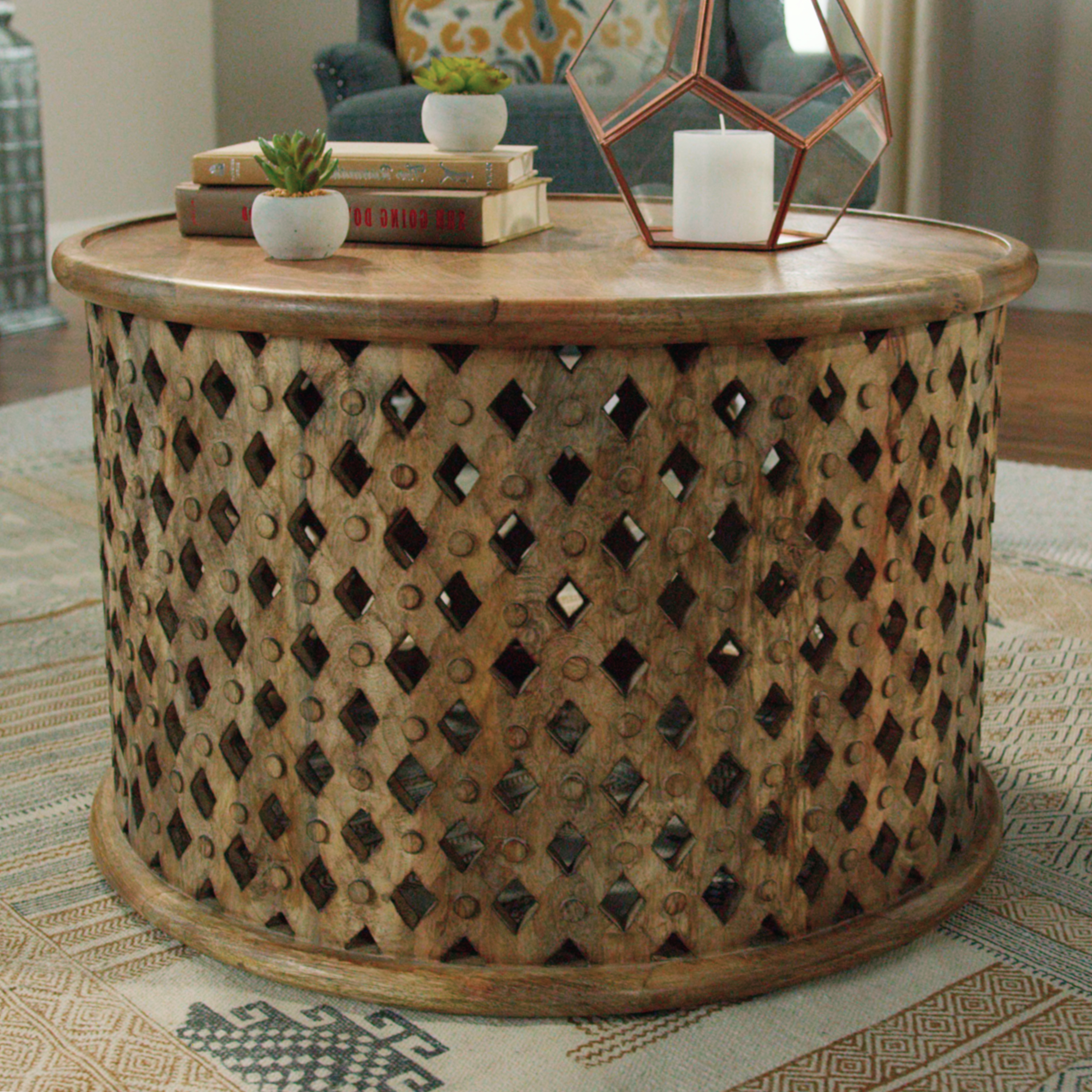 wood cube coffee table set migrant resource carved end tables tribal accent world market wire mini desk wine holder tall thin skinny white outdoor lounge slim rack round sofa