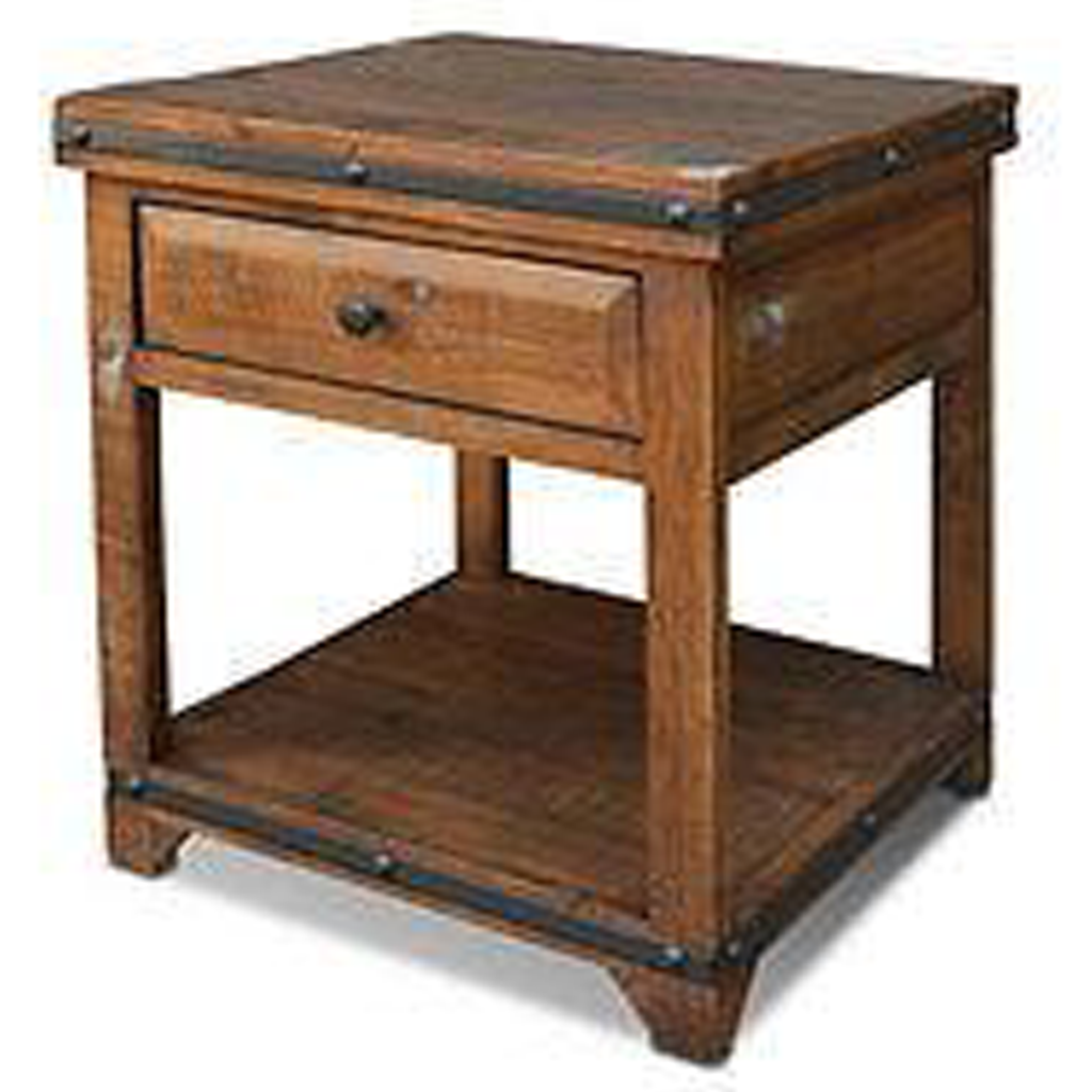 wood end tables crafters and weavers addison rustic table dark antique wooden accent shelby chest home ornaments piece coffee set fitted nic covers metal knotty pine vintage retro