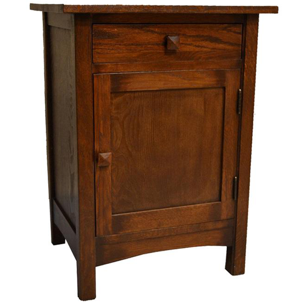 wood end tables crafters and weavers mission door drawer table one accent oriental bedside lamps small contemporary battery operated square legs modern target kindle fire kitchen