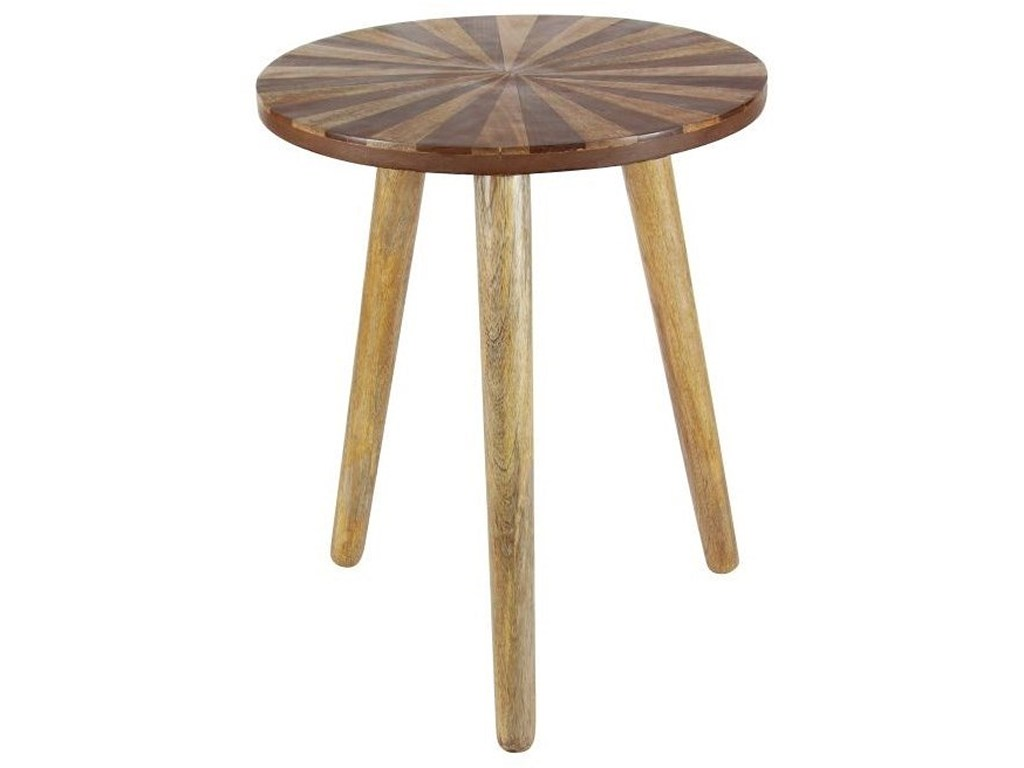 wood round accent table furniture uma enterprises inc products color threshold marble furniturewood small tiffany lamps metal patio end antique pedestal coffee with matching side