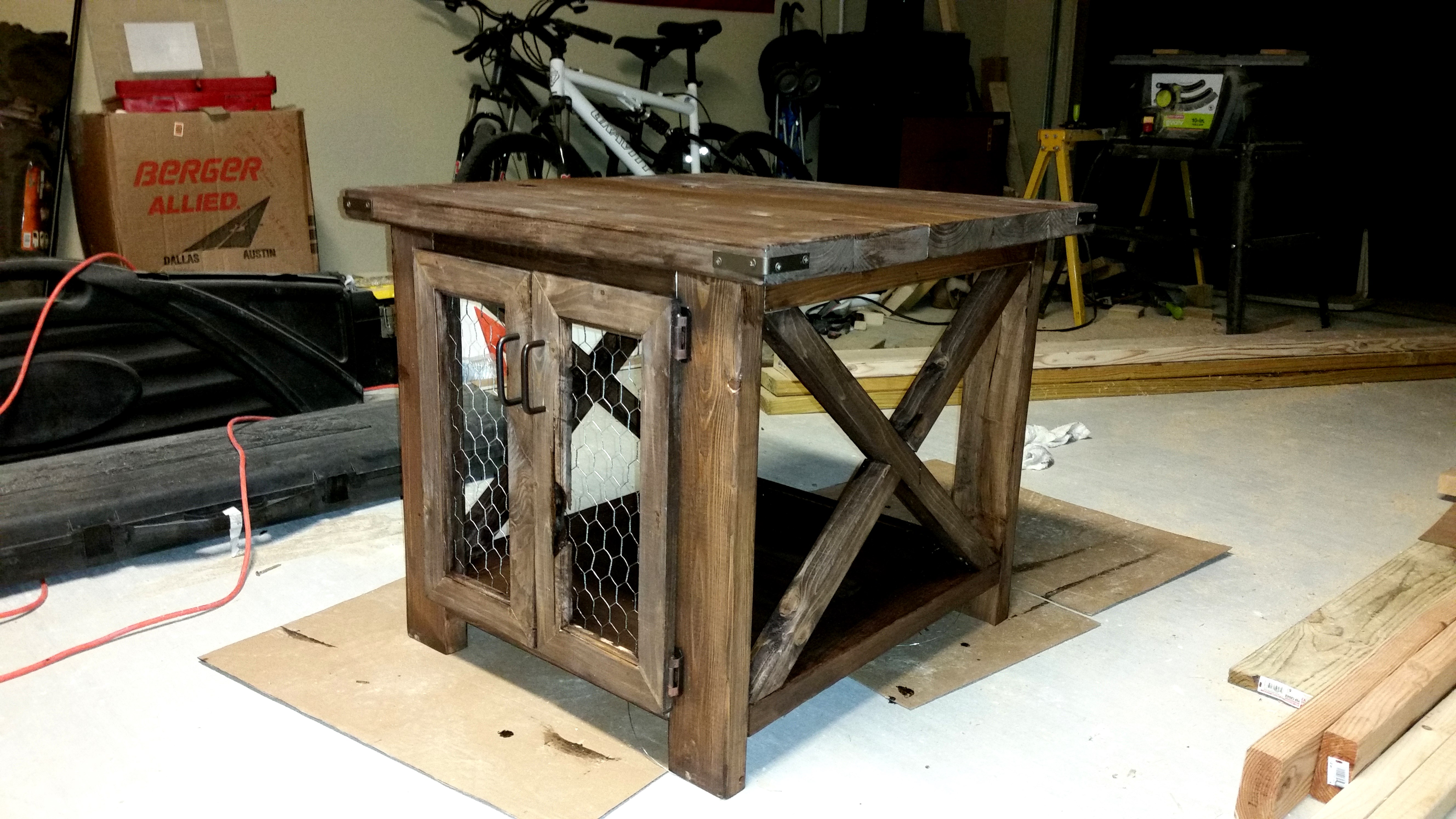wood stump accent table the super fun rustic end ideas great chicken wire diy projects ana white richards with royal home furniture macys north bench vise hardware small shoe rack