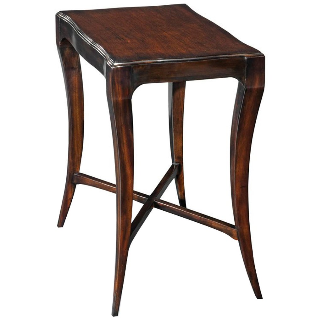 woodbridge furniture addison drink table end tables accent previous mango wood twin size daybed thin behind couch shabby chic bedside lane kidney coffee beverage dispenser