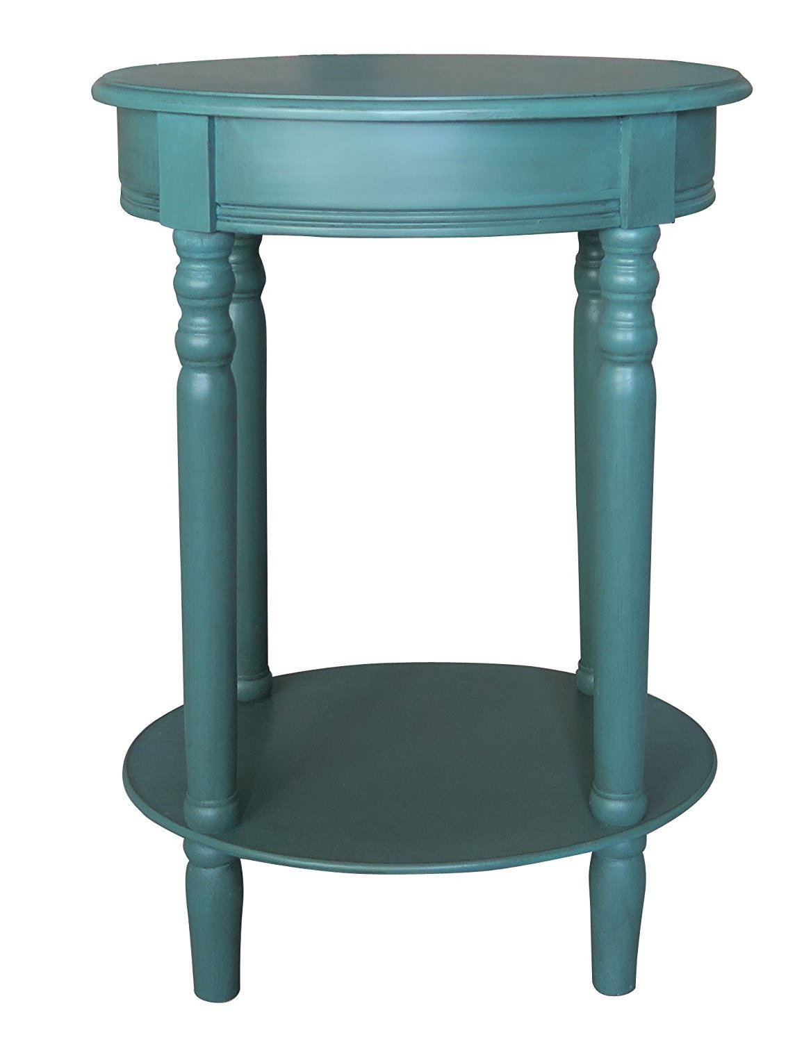 woodbury oval accent table with drawer finishes urbanest teal pub dining set red lamp ikea black cube storage garden drinks cooler distressed white coffee ashley furniture round
