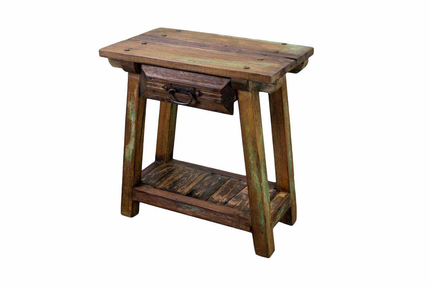 wooden accent tables modern recycled pine wood end table kitchen cute chair bath and beyond gift registry skinny ikea round painted trestle garden dining high bar black brown