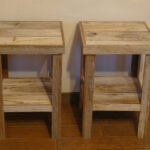 wooden end tables popular with reclaimed barnwood wood table night stand accent screen porch furniture sheesham contemporary dining room home goods dressers white glass side desk 150x150