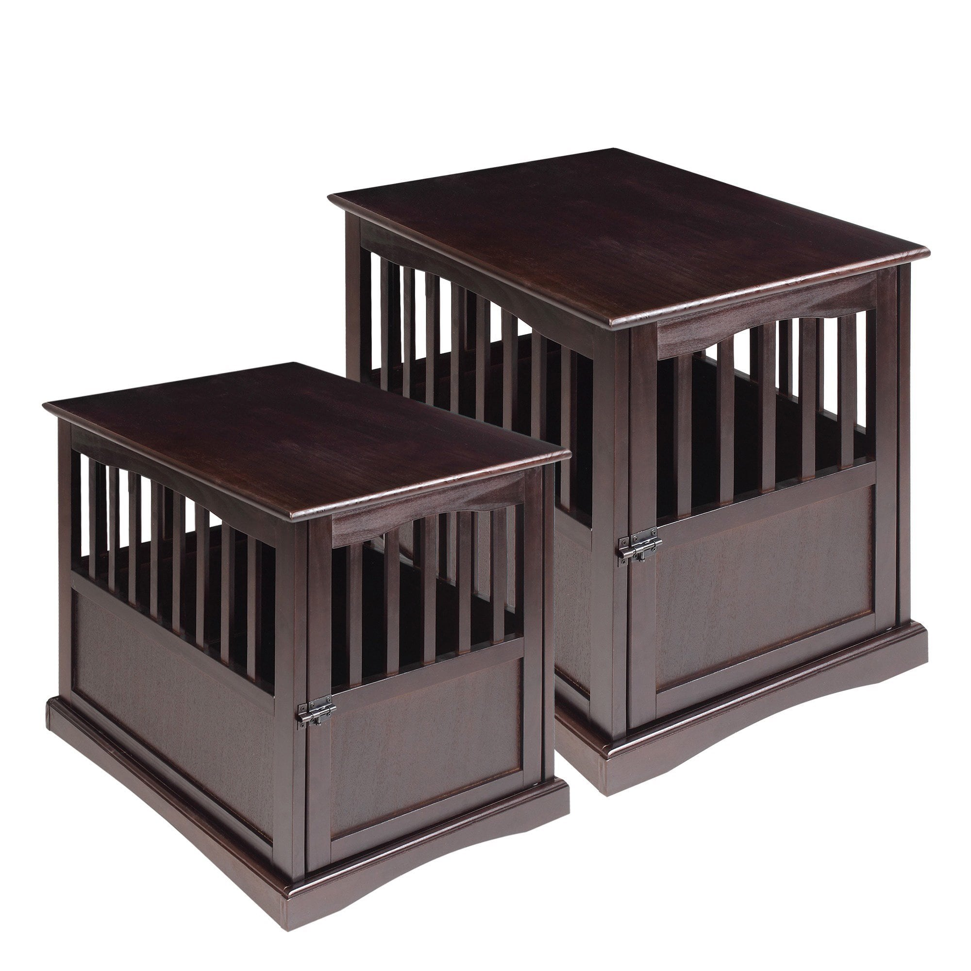 wooden pet crate end table with lockable door free shipping and unfinished round accent today cherry drop leaf corner furniture dining room patio set floor threshold transitions