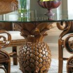 wooden pineapple table lamps thing oriental accents silver accent white resin wicker side marble high top gold console oak with shelf outdoor ice cooler pottery barn plans 150x150
