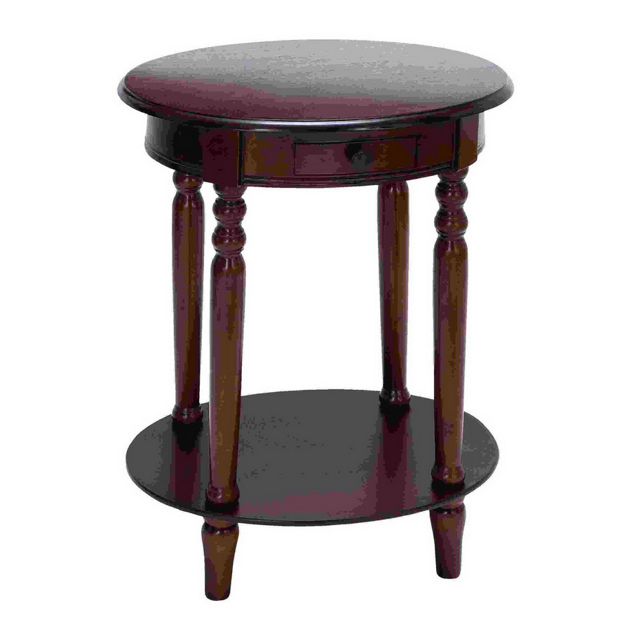 woodland imports plum purple oval end table accent chawston simplify little lamps small glass top target ott pacific furniture home goods tablecloths west elm dining bench white