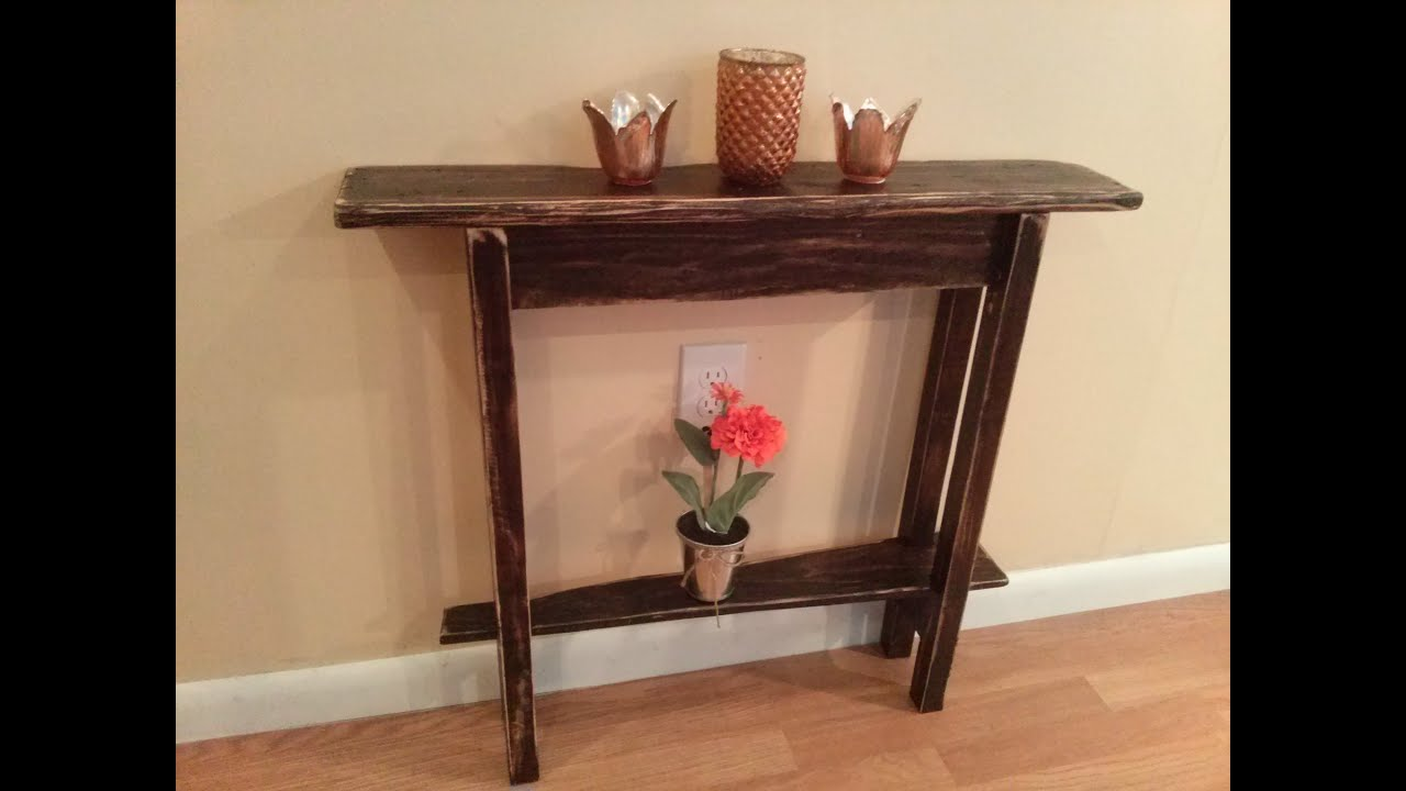 woodworking rustic accent table maker video barn door decor mesh garden uttermost martel console oversized living room chair unique small side tables buffet ikea couches gold wire