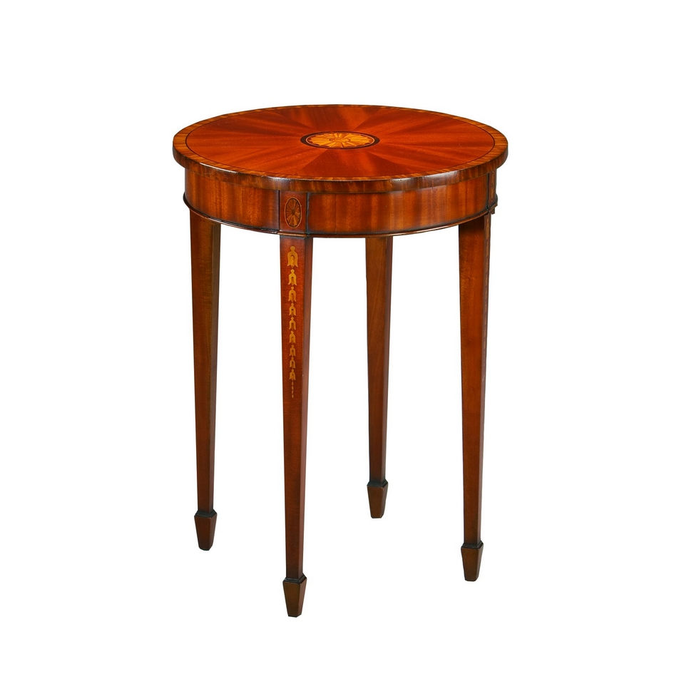 woonstijlgalerie classic furniture lamp table and sidetable hepplewhite lewis wood accent small couches for rooms gold metal glass coffee chest bedside nautical floor lamps long