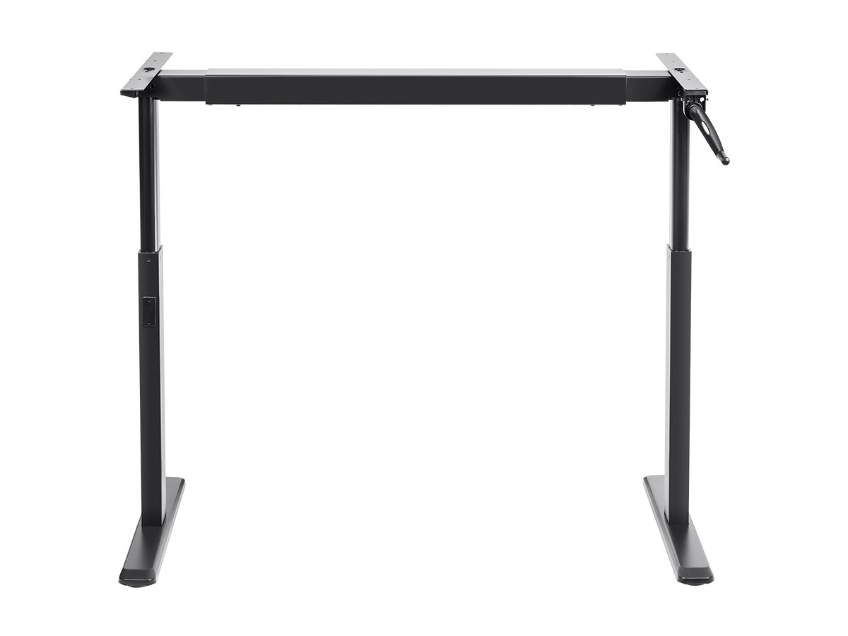 workstream mono sit stand height adjustable table desk frame room essentials accent instructions workstation manual crank round pedestal entry ikea dining furniture small