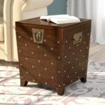 world menagerie hassania nailhead trunk end table reviews accent with nailheads crystal side lamps cooler coffee pier outdoor pillows dark brown entry barn door buffet metal legs 150x150