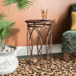 world menagerie lukas end table reviews metal eyelet accent small red side bamboo patio furniture shabby chic floor lamp backyard beer cooler drum kit stool average coffee height 150x150
