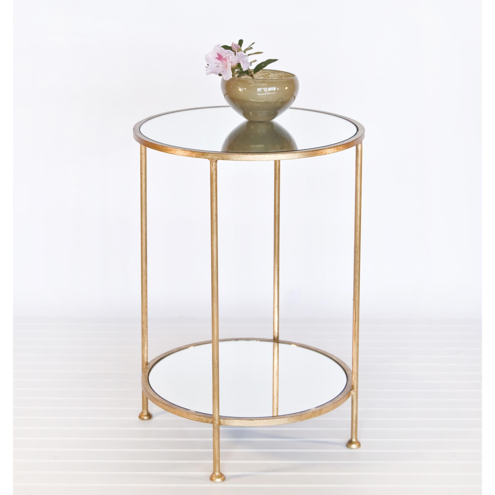 worlds away chico small tier gold leaf side table mirror top mirrored accent with very garden furniture tulsa cane outdoor charging station high end cocktail tables wood cube mid