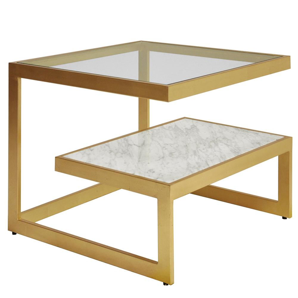 worlds away modern side table with glass marble gold leaf beacon accent chandelier half circle dining tablecloth bunnings umbrella target round mirror dresser chest outdoor top