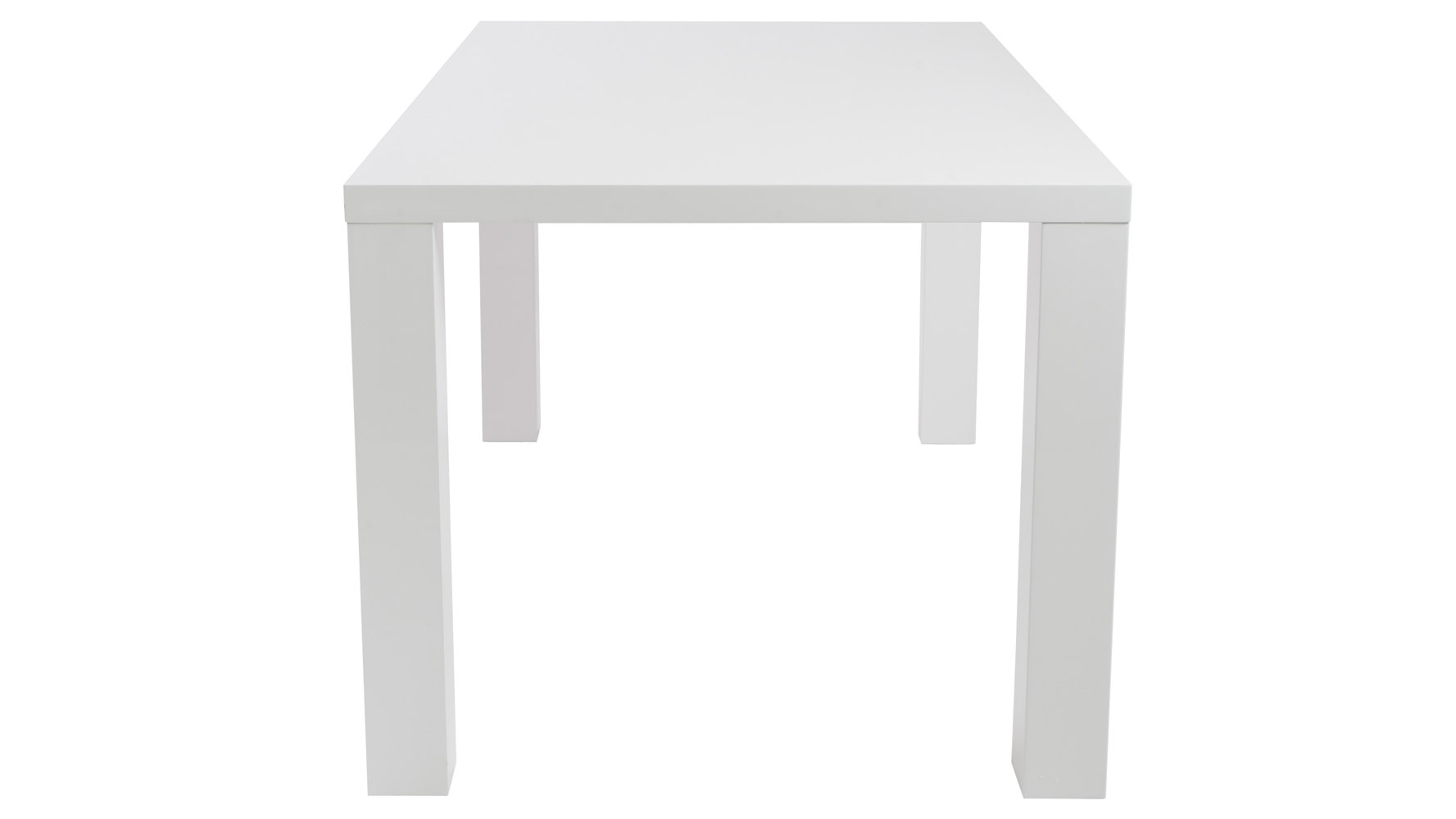 wren contemporary high gloss lacquer dining table zuri furniture white accent pier one art bedside stand bbq prep decorating console entryway lamps kmart canadian tire patio extra