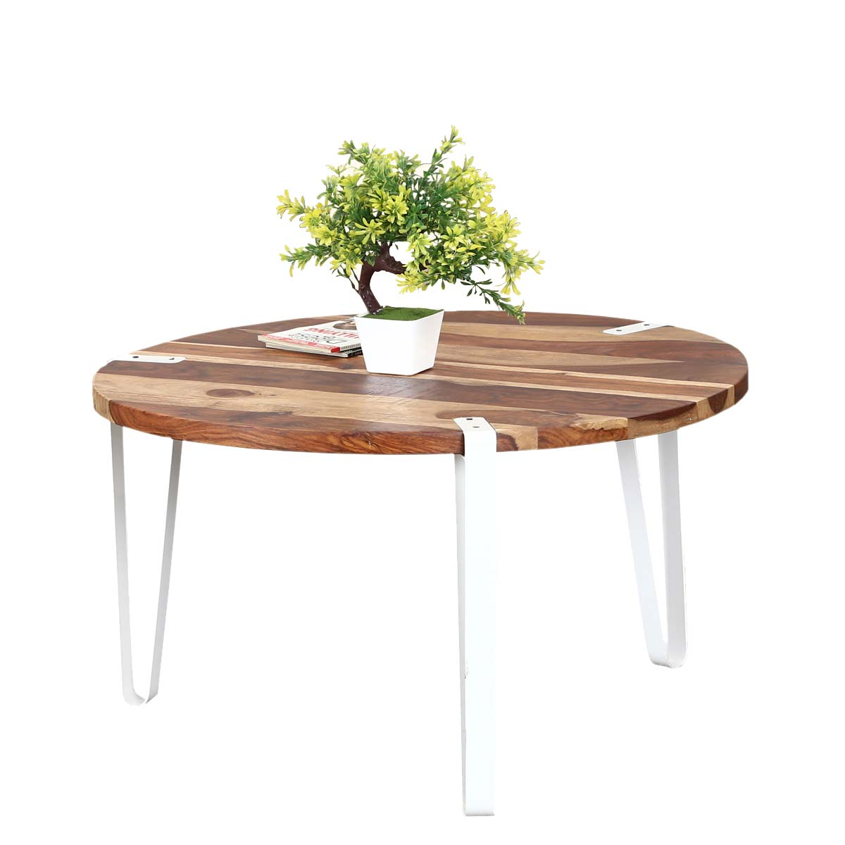 wrought iron large round coffee table with embosed steel modern zebra solid wood accent nate berkus marble trestle bench rustic storage tall mirrored cherry dinner metal legs